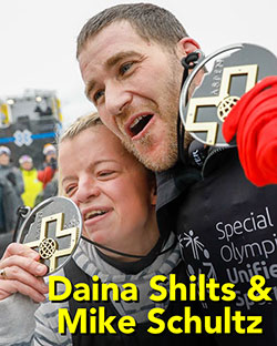 Dana Shilts - Special Olympics Snowboarding Gold & Silver Medalist