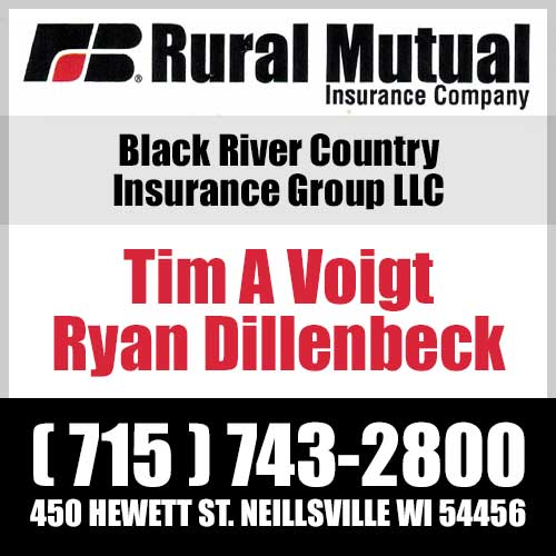 Rural Mutual - Black River Country Insurance Group LLC - Tim A Voigt & Ryan Dillenbeck - 715-743-2800 - Neillsville, WI