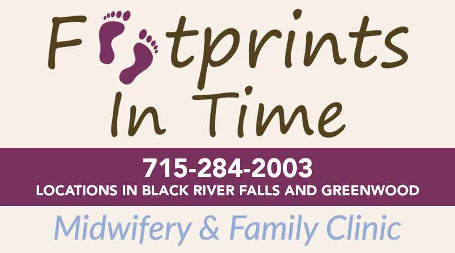 Footprints In Time - Midwifery & Family Care - 715-284-2003 - Locations in Black River Falls and Greenwood