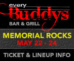 Every Buddy's Bar & Grill - Memorial Rocks - May 22-24