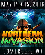 Northern Invasion - May 14 + 15, 2016 - Somerset, WI