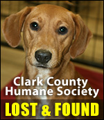 Clark County Humane Society - Lost & Found